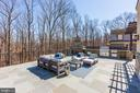Outdoor Entertaining Area with Fireplace and Grill - 12025 EVENING RIDE DR, POTOMAC