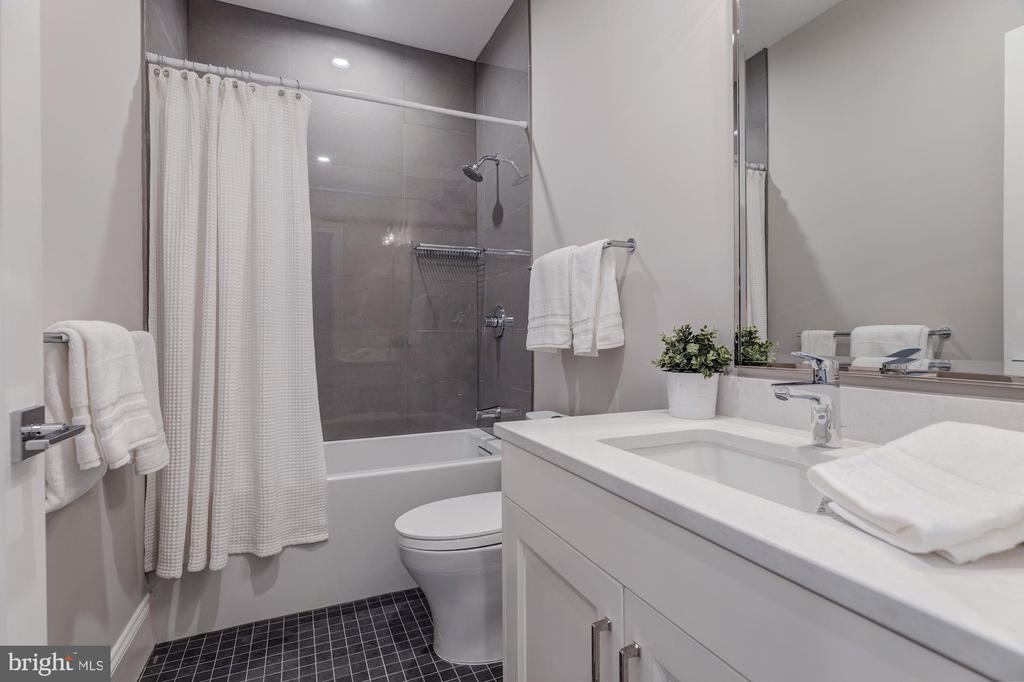 Example of typical bathroom with tub - 4909 FALSTONE AVE, CHEVY CHASE