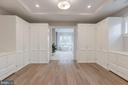 Large, custom-built, owner's dressing room - 4909 FALSTONE AVE, CHEVY CHASE