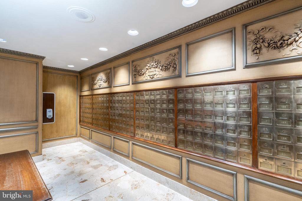 Mail room - 2801 NEW MEXICO AVE NW #1122, WASHINGTON