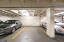 One of two parking spaces that come with unit - 2801 NEW MEXICO AVE NW #1122, WASHINGTON