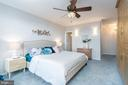 Master suite #2 with en-suite bath - 2801 NEW MEXICO AVE NW #1122, WASHINGTON