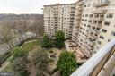 View of The Colonnade's gardens - 2801 NEW MEXICO AVE NW #1122, WASHINGTON