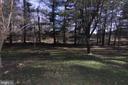 flat back yard - leads to creek - 35820 CHARLES TOWN PIKE, HILLSBORO