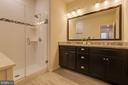 Updated 1st Master Bathroom - 23290 MILLTOWN KNOLL SQ #106, ASHBURN