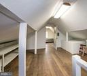 Lrg walk-up hrdwood floored Attic- Great 4 storage - 17 MAGNOLIA PKWY, CHEVY CHASE