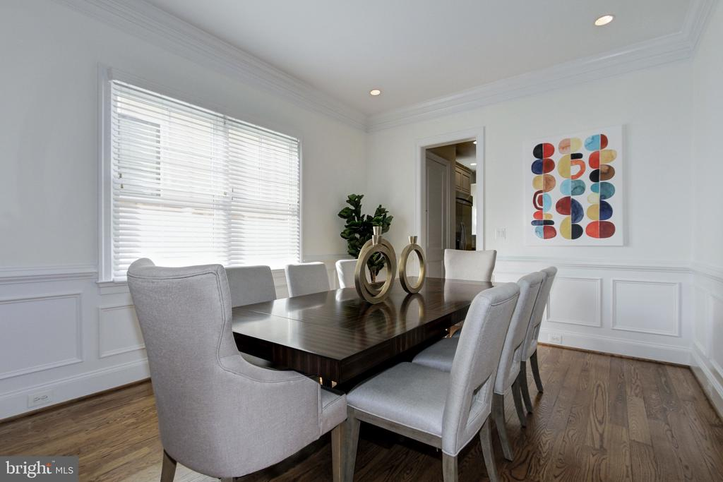Dining Room - 7612 EXETER RD, BETHESDA
