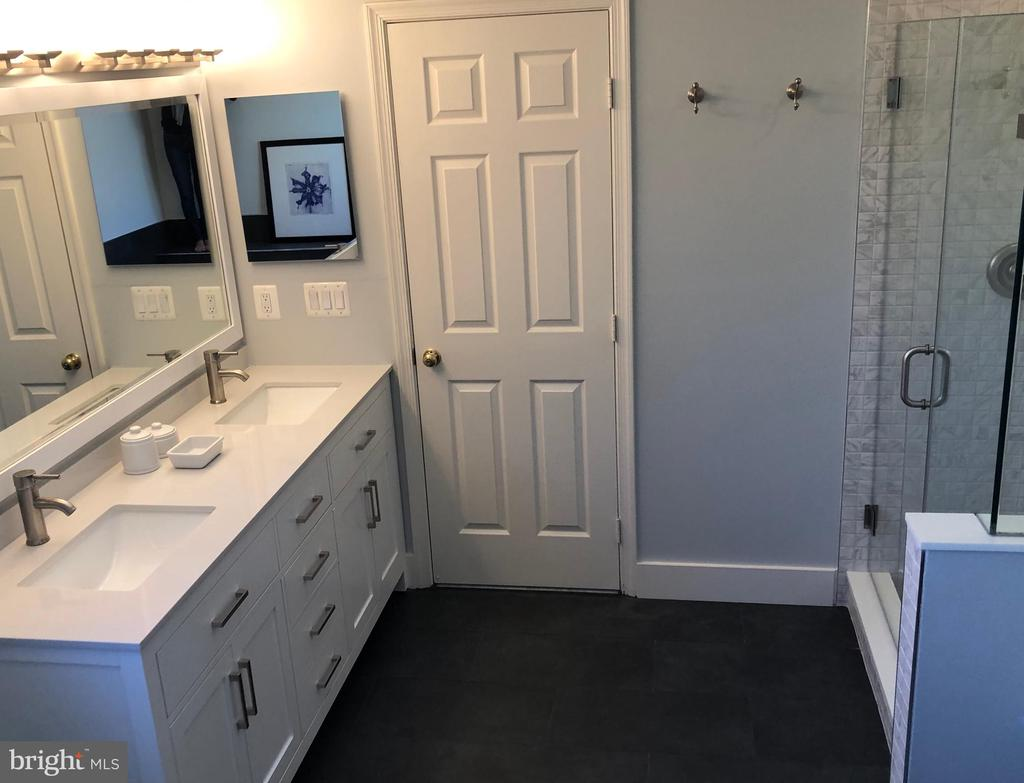 New vanity, sinks, mirrors, flooring etc - 11205 PAVILION CLUB CT, RESTON