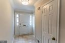 Entryway Foyer - 10927 WICKSHIRE WAY #K-3, ROCKVILLE