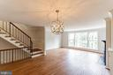 Open Dining and Family Room - 10927 WICKSHIRE WAY #K-3, ROCKVILLE