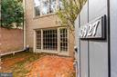 Private Fenced in Patio - 10927 WICKSHIRE WAY #K-3, ROCKVILLE