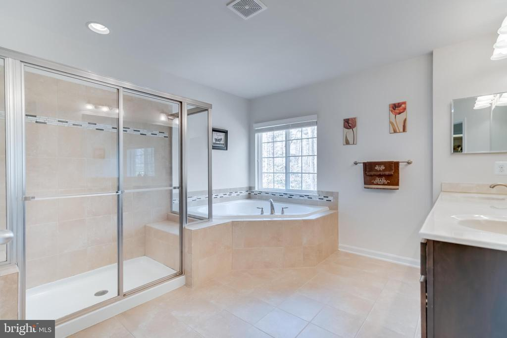 Double Glass Shower - 3499 EAGLE RIDGE DR, WOODBRIDGE