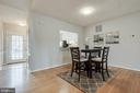 Dining Room - 15757 WIDEWATER DR, DUMFRIES