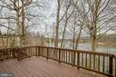 Deck and Winter View - 15757 WIDEWATER DR, DUMFRIES