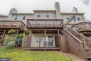 Rear Exterior - 15757 WIDEWATER DR, DUMFRIES