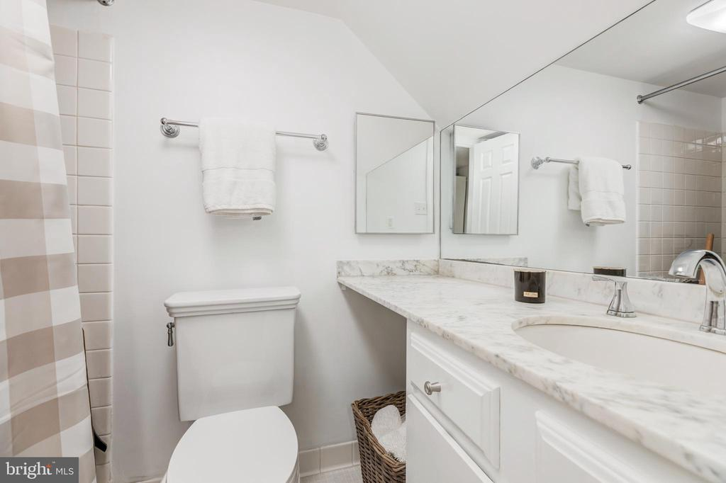 Lower Level Bath - 1820 KALORAMA SQ NW #25, WASHINGTON