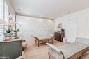 Master Dressing Room or Second Bedroom - 1820 KALORAMA SQ NW #25, WASHINGTON