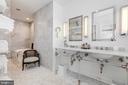 Master Second Bath - 1820 KALORAMA SQ NW #25, WASHINGTON