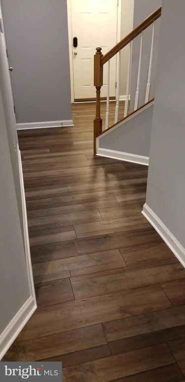 New flooring on entry level - 241 WOODSTREAM BLVD, STAFFORD