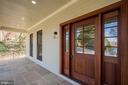 Front porch/door - 920 N QUESADA ST, ARLINGTON