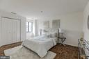 Spacious second bedroom with double closet - 1401 N OAK ST #302, ARLINGTON