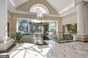 Staircase down to Common Rooms - 5802 NICHOLSON LN #2-507, ROCKVILLE