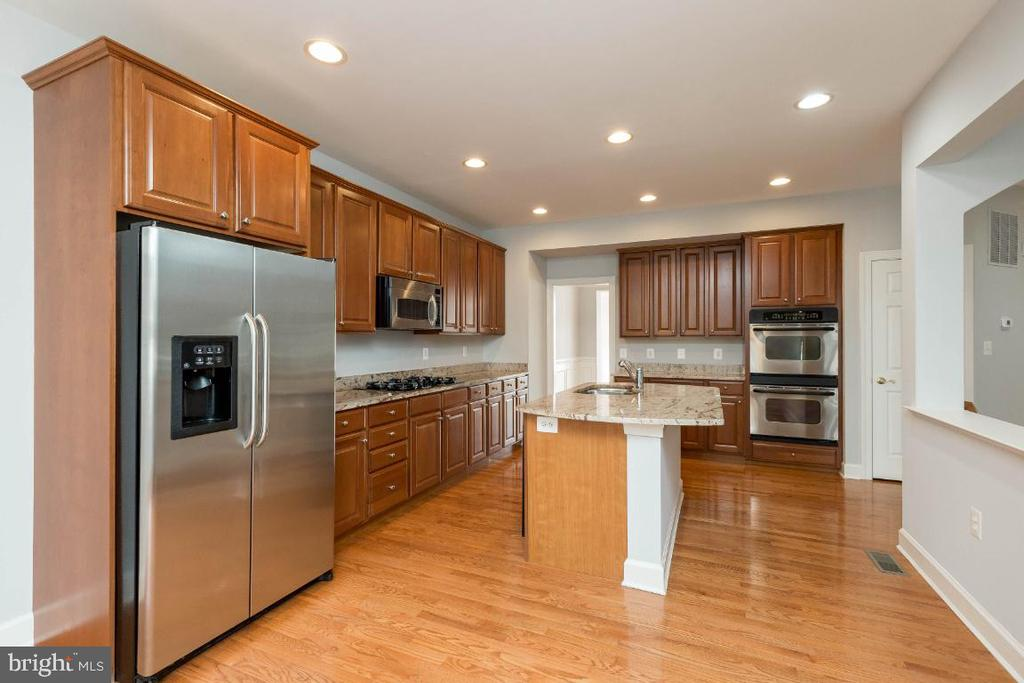 Stainless appliances and granite counters - 43476 CASTLE HARBOUR TER, LEESBURG