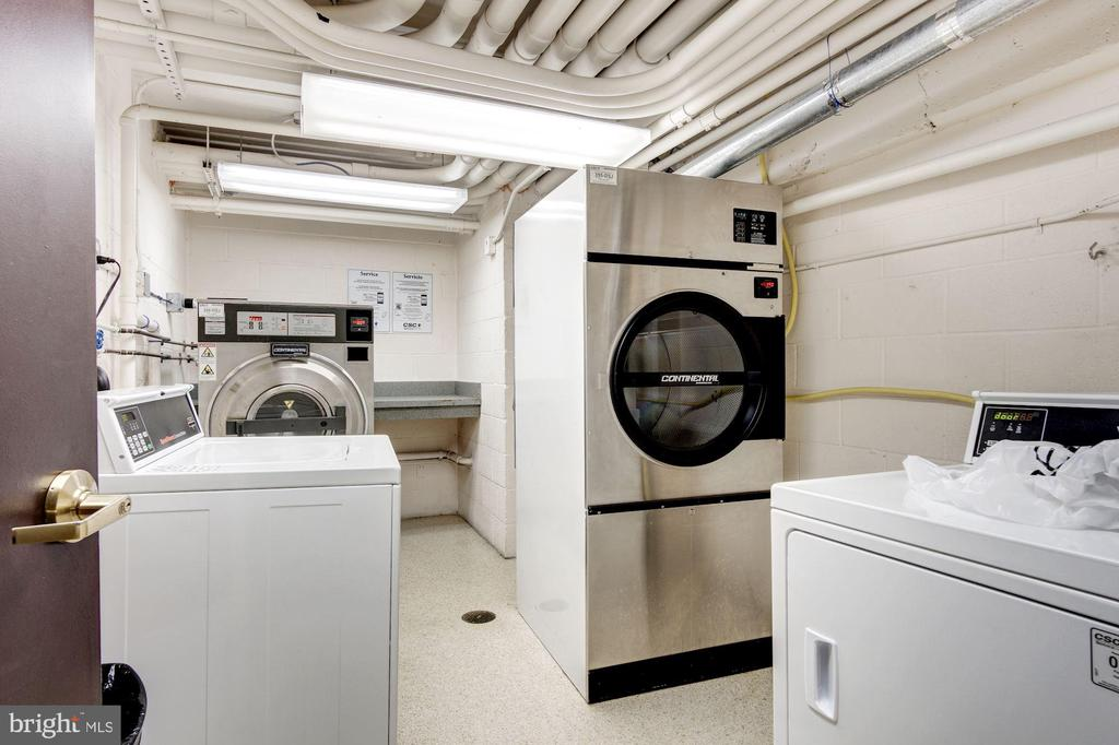 Extra Laundry Machines in the North Basement - 950 25TH ST NW #203-N, WASHINGTON