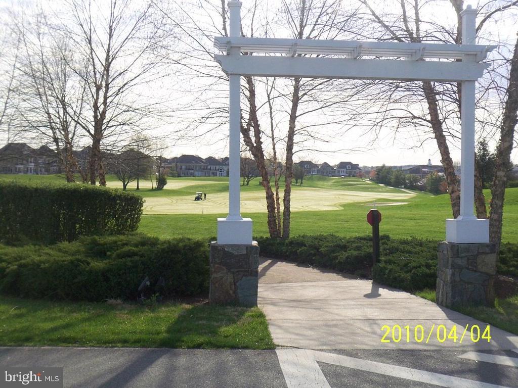 Golf course view - 43476 CASTLE HARBOUR TER, LEESBURG
