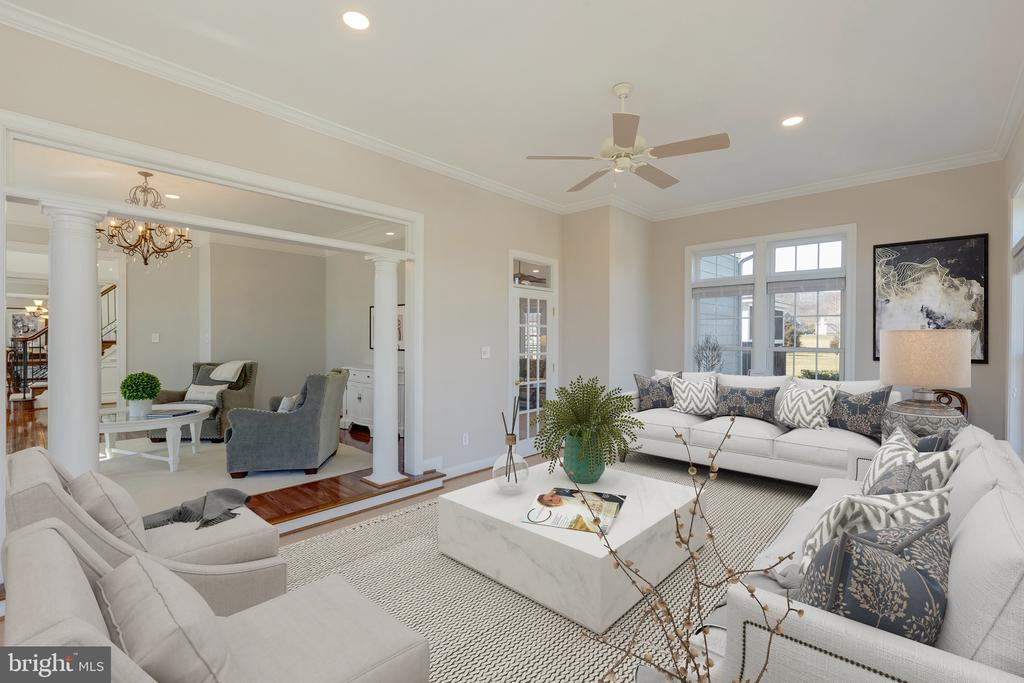 Virtually Staged - 16357 LIMESTONE CT, LEESBURG