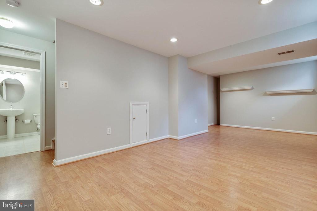 Rec Room in Lowe Level - Walk-up stairs - 20747 CITATION DR, ASHBURN