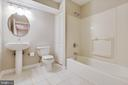 Lower Level Full Bathroom - 20747 CITATION DR, ASHBURN