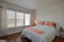 Spacious Master Bedroom with abundant light! - 219 LONG POINT DR, FREDERICKSBURG