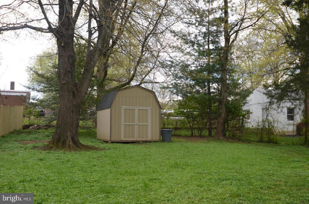 Flat Backyard with Shed - 7525 MAGARITY RD, FALLS CHURCH