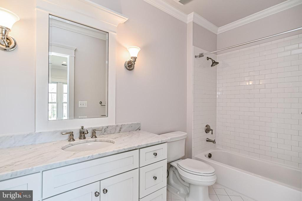 All En-suite Baths Feature Marble Countertops - 1867 BEULAH RD, VIENNA