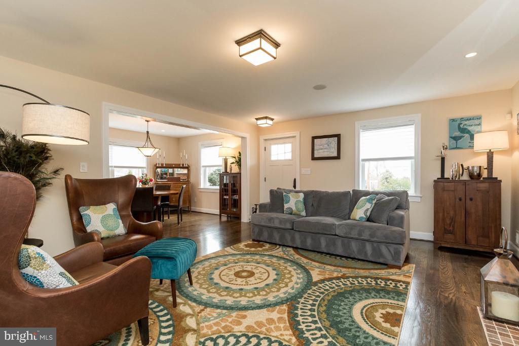 Living Room into Dining Room - 6308 26TH ST N, ARLINGTON