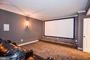 Built-in Projector, Speakers, and Projector Screen - 1867 BEULAH RD, VIENNA