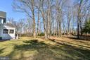 Expansive Rear Yard With Mature Trees - 1867 BEULAH RD, VIENNA