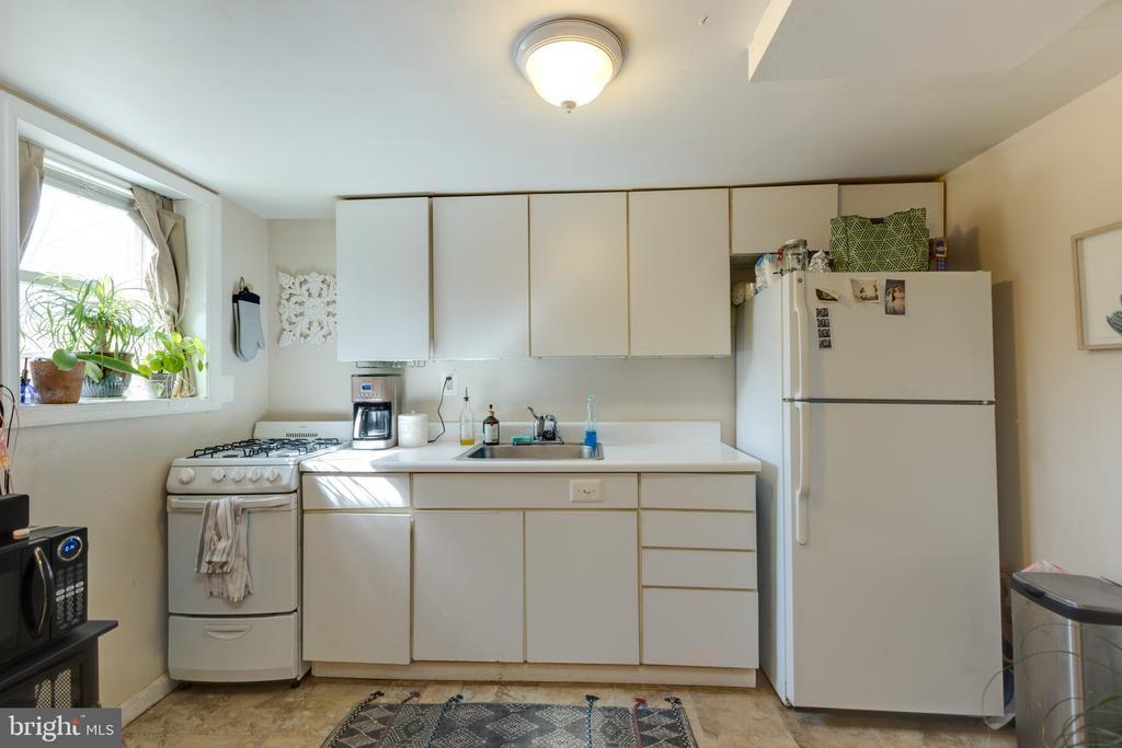Lower level kitchenette - 3704 ARLINGTON BLVD, ARLINGTON