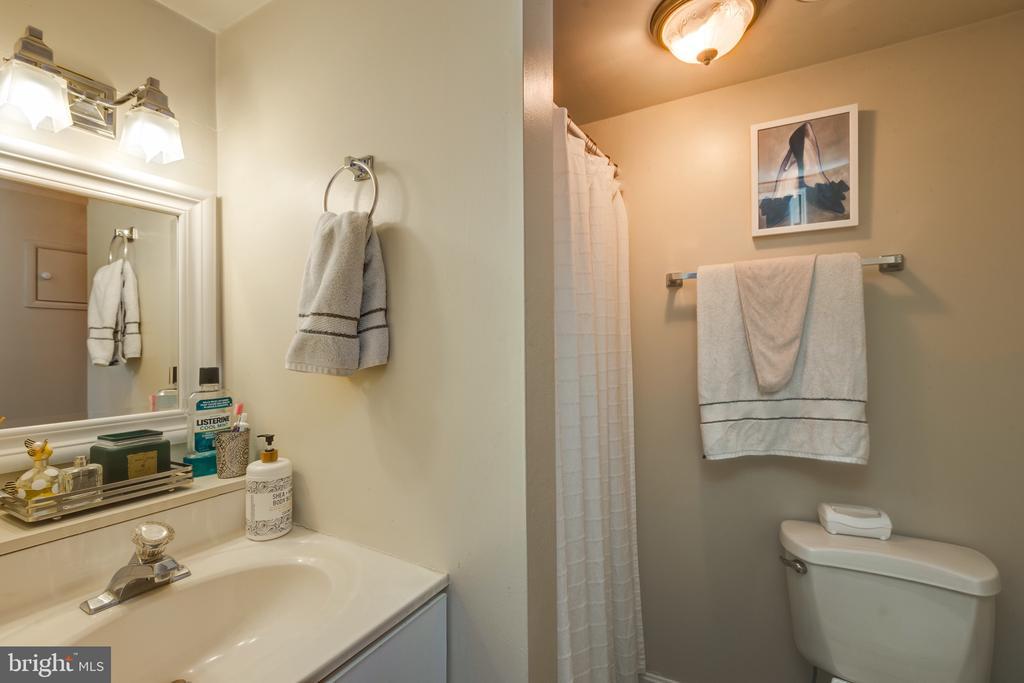 Lower level full bath with shower - 3704 ARLINGTON BLVD, ARLINGTON