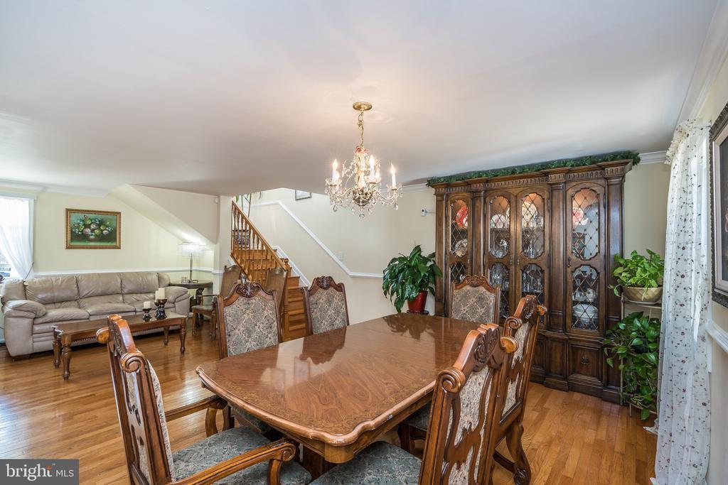 Living/dinning room - 7801 MISTY CT, GAITHERSBURG