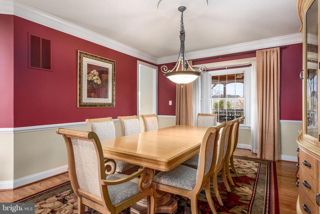 Formal Dining Area - 19876 BETHPAGE CT, ASHBURN