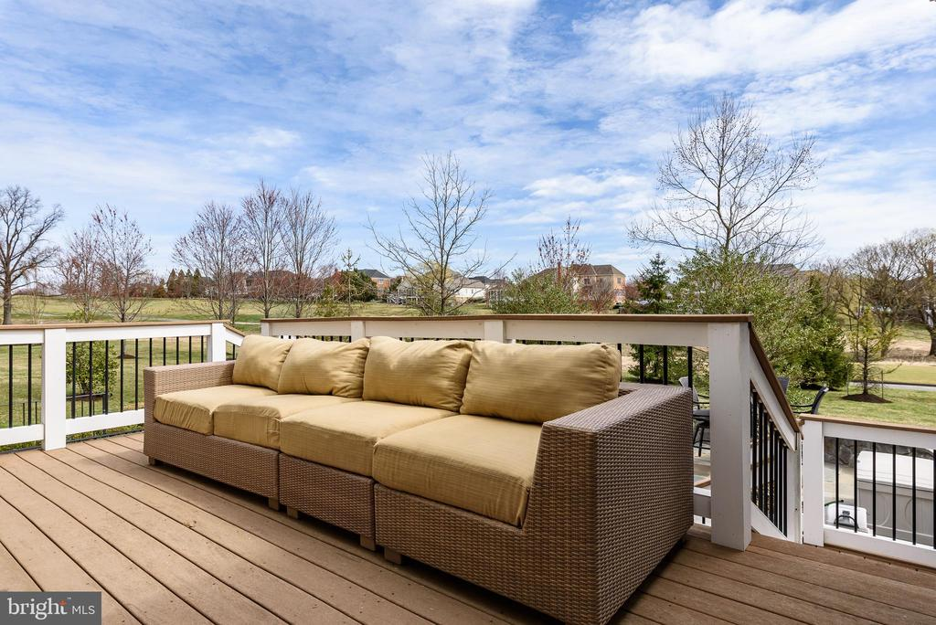 Trex Deck - 19876 BETHPAGE CT, ASHBURN