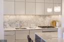 Sleek Kitchen - 700 NEW HAMPSHIRE AVE NW #1501, WASHINGTON
