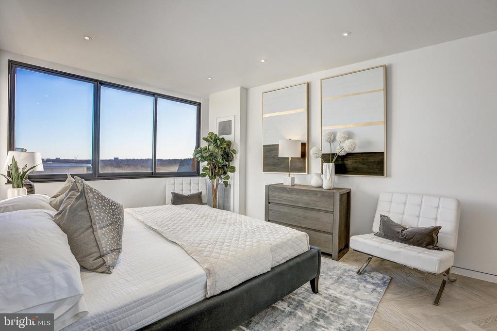 Master Bedroom - 700 NEW HAMPSHIRE AVE NW #1501, WASHINGTON