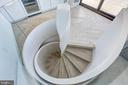 Spiral Staircase Detail - 700 NEW HAMPSHIRE AVE NW #1501, WASHINGTON