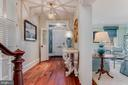 Front hall - 211 DUKE OF GLOUCESTER ST, ANNAPOLIS