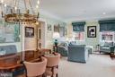 Dining Room & Living Room - 211 DUKE OF GLOUCESTER ST, ANNAPOLIS