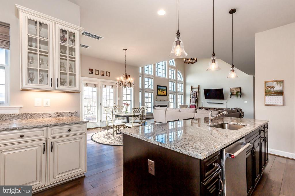 Luxury package ktichen - 14515 FALCONAIRE PL, LEESBURG