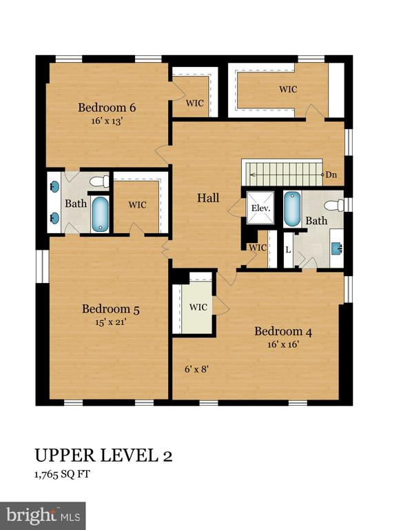 Upper Level 2 - 2344 S ST NW, WASHINGTON